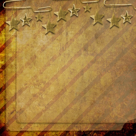 Multicolored backdrop for greetings or invitations with frames and stars  photo