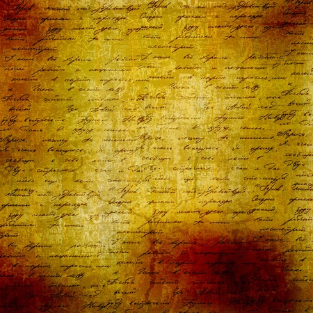 Grunge abstract background with handwrite text for design  photo