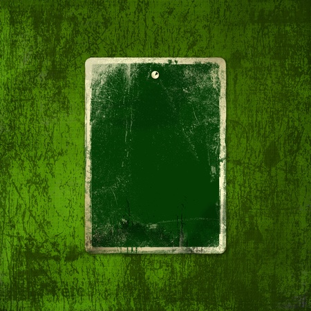 irish: Grunge green background with ancient ornament for st Patrick