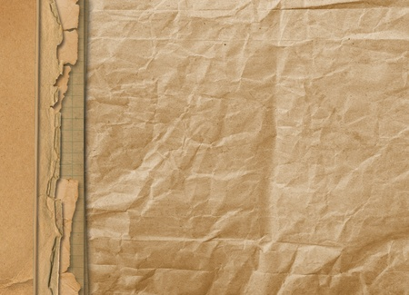 alienated: Old grunge alienated paper for design or backdrop