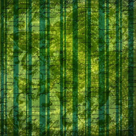 Grunge green background with ancient ornament for st Patrick Stock Photo - 12770496