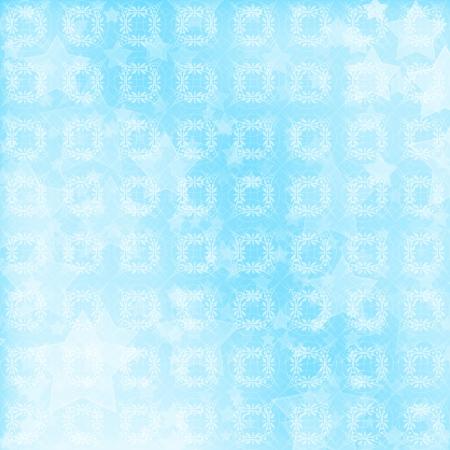 Blue ornamental background for backdrop or design  photo