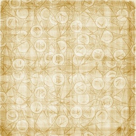 ornamente: Grunge old background with abstract ancient ornament