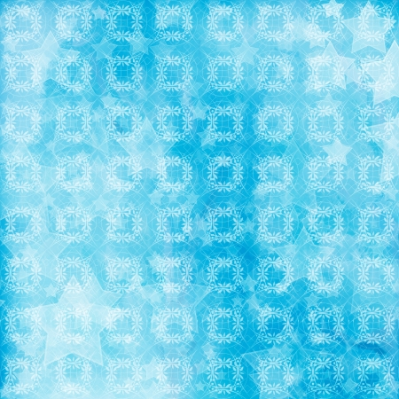 Light blue watercolor brush strokes for grunge background