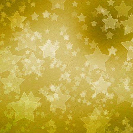 gold star mother's day: Gold backdrop for greetings or invitations with stars Stock Photo