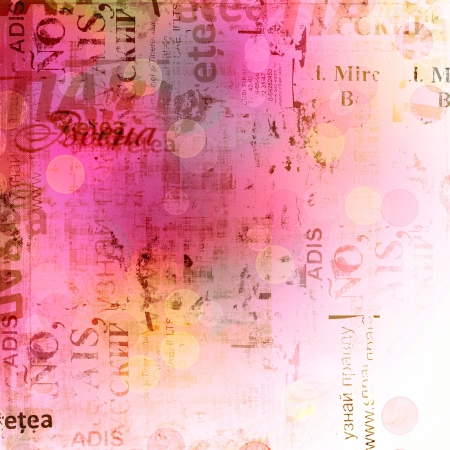 Grunge abstract background with old torn posters with blur boke Stock Photo - 14577377