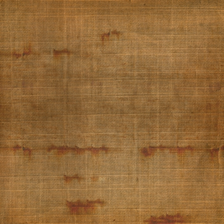 sackcloth: Old grunge background of shabby sackcloth for design