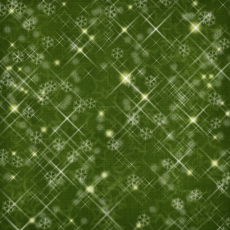 Winter abstract background, christmas stars with snowflakes photo