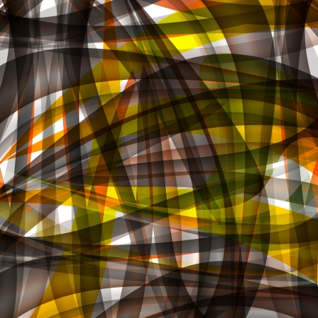 Abstract chaotic pattern with colorful translucent curved lines Stock Photo - 16881473