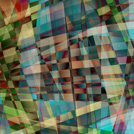 chaotic: Abstract chaotic pattern with colorful translucent curved lines