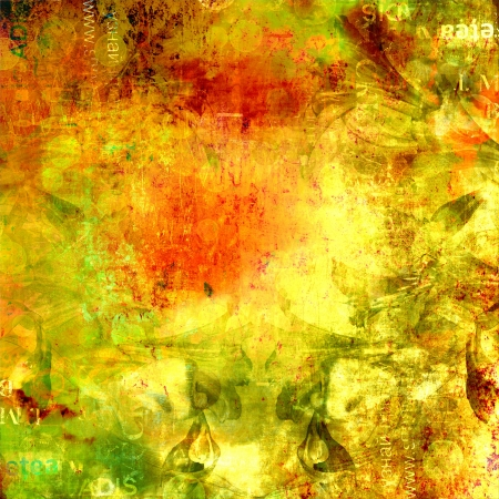 Grunge abstract background with old torn posters with blur text Stock Photo - 16881573