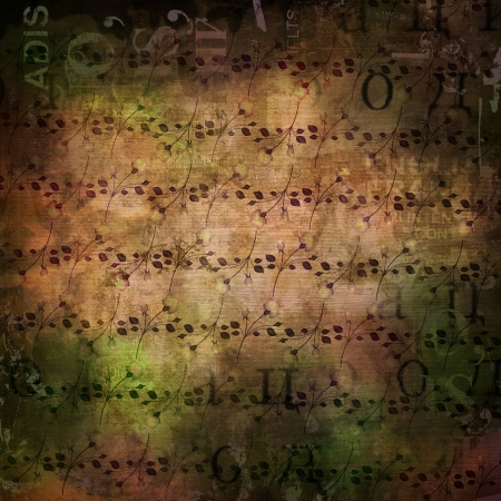 Grunge abstract background with old torn posters with blur text Stock Photo - 16881562