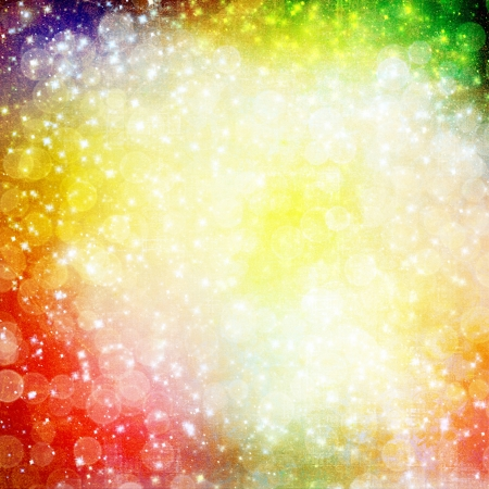 Abstract multicoloured background with blur bokeh for design Stock Photo - 16881542
