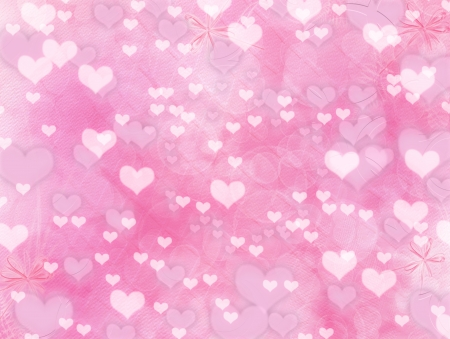 Greeting Card to St. Valentines Day with hearts  Stock Photo