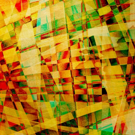 Abstract old chaotic pattern with colorful translucent curved lines Stock Photo - 17918640