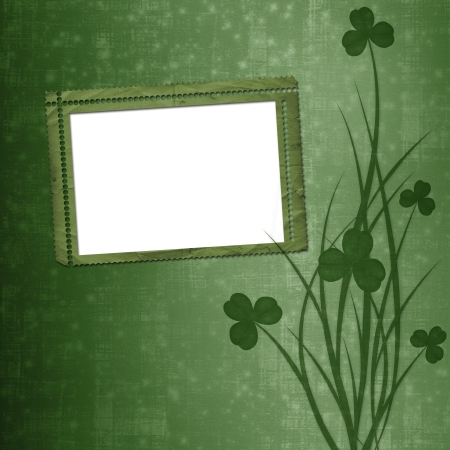 Design for St. Patrick's Day. Flower ornament.  Stock Photo - 17918568