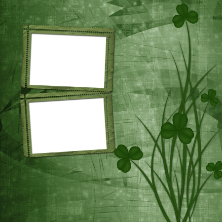 Design for St. Patrick's Day. Flower ornament. Stock Photo - 17918670