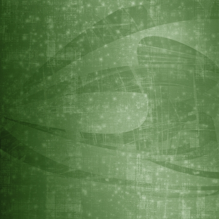 Grunge green background with ancient ornament for St. Patrick's Day Stock Photo - 18390214