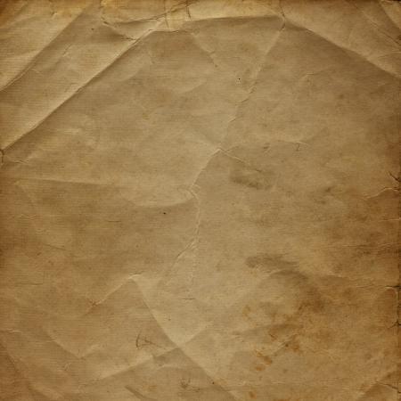 Old paper in grunge style. Alienated cardboard