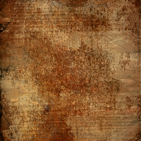 alienated: Alienated used paper background  with gold ornamental for announcement