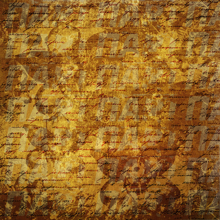 handwrite: Grunge abstract background with handwrite text for design