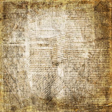 Grunge abstrakte Zeitung Hintergrund für Design mit alten zerrissenen Plakaten