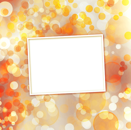 Abstract multicoloured background with blur bokeh for design  photo