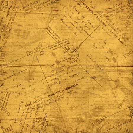 telegrama: Sobres vintage, viejas cartas y documentos rasgados