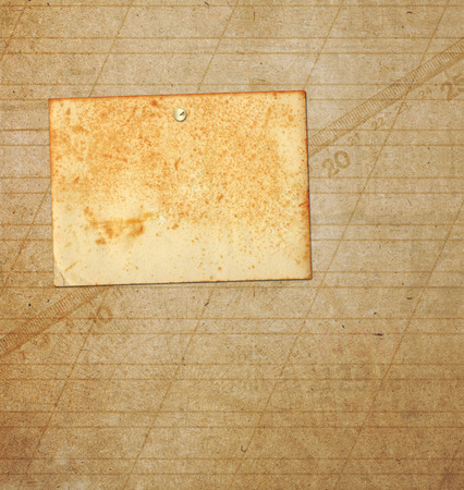 ancient paper: Old grunge frames on the ancient paper background