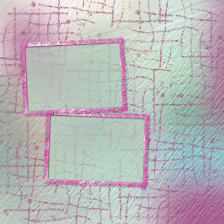 trumpery: Grunge papers design in scrapbooking style with frame