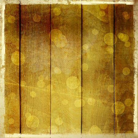 boke: Grunge wooden vintage scratch background with blur boke.