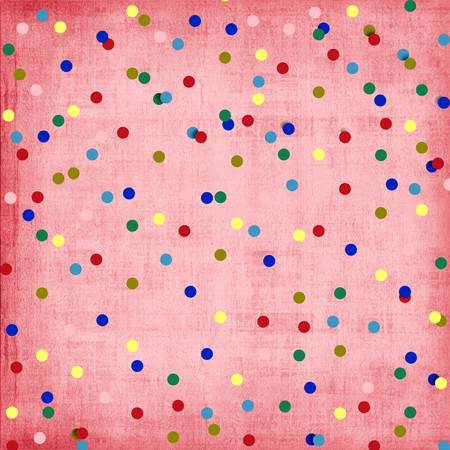 ornamente: Abstract background with confetti for holiday invitations or greetings
