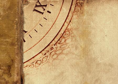 portadas de libros: Álbum viejo de la vendimia con las postales de papel rasgados y fotos