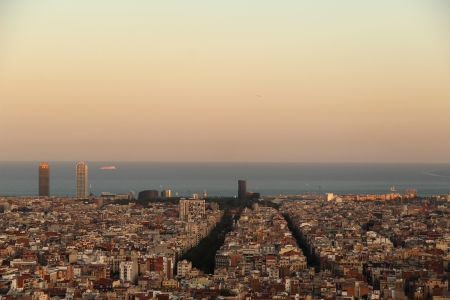 View of Barcelona photo