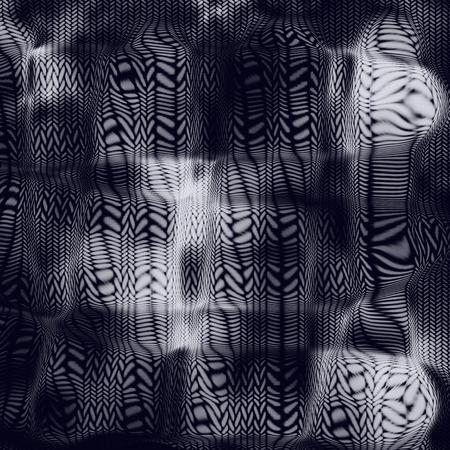 stockinet: Dark blue abstract pattern Stock Photo