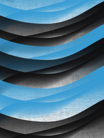 curving lines: abstract lines Stock Photo