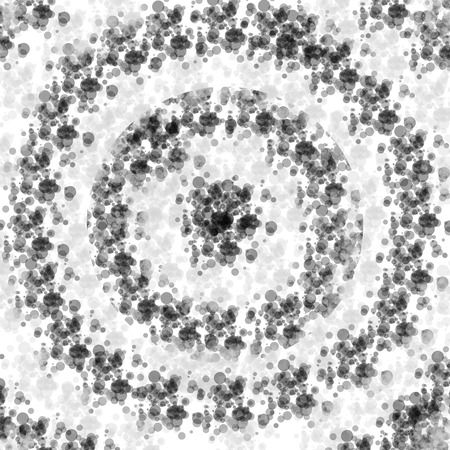 compression  ring: abstract circles