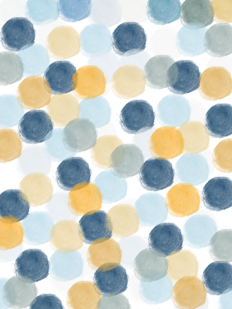blue and white: abstract pattern