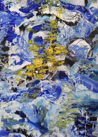 painting: abstract painting Stock Photo