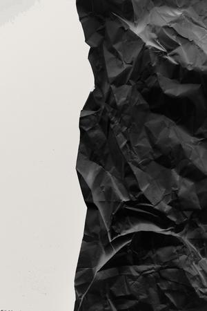 crumpled paper texture Imagens