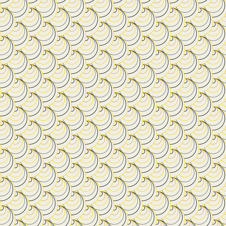 serie: Colorful fan background. Based on Traditional Japanese Embroidery. Abstract Seamless pattern. Based on Sashiko stitching. Black white and yellow texture. For decoration or printing on fabric.
