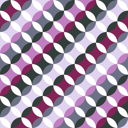 stitching: Abstract round backdrop. Based on Traditional Japanese Embroidery. Colorful Seamless pattern. Based on Sashiko stitching - shippo-tsunagi. Illustration