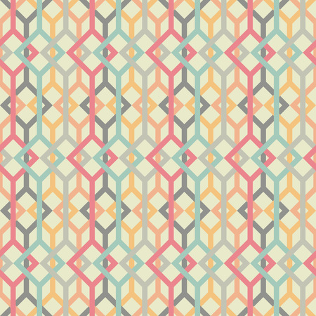 pale colors: Vector illustration. Stylized texture with lines and squares. Pale colors.