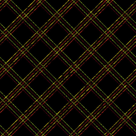 backdrop grungy: Endless vector pattern with Plaid Fabric. Simple checkered template. Brush strokes. Pattern fills. Abstract backdrop. Grungy tartan.