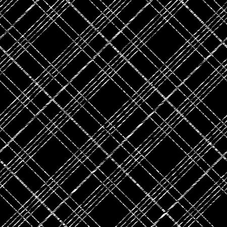 Abstract Seamless Pattern avec tissu à carreaux. Modèle à carreaux simple. Coups de pinceau. Motif remplit. Toile de fond abstrait Vecteur sans fin. Fond damier uni pour la décoration ou la toile de fond.
