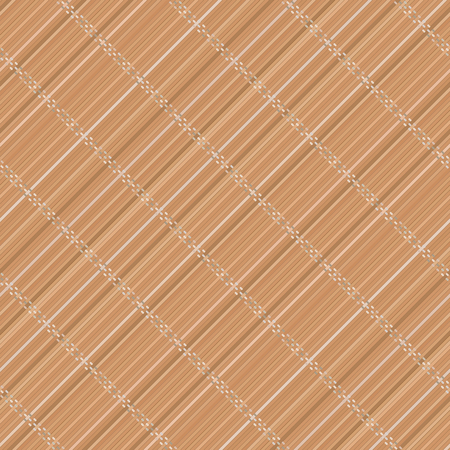 Japanese bamboo mat. Diagonal. Seamless pattern. Abstract wooden background. Asian wallpaper. Japanese and chinese traditional theme. Background of bamboo mat texture. For wallpaper or pattern fills.