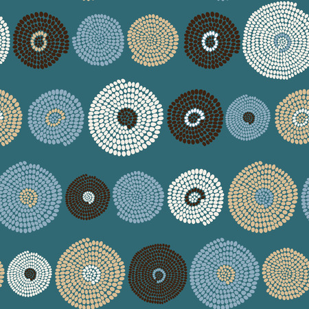 arcs: Hand drawn Traditional  African Ornament. Stylized texture with arcs and circles. Plain  background for decoration or backdrop.