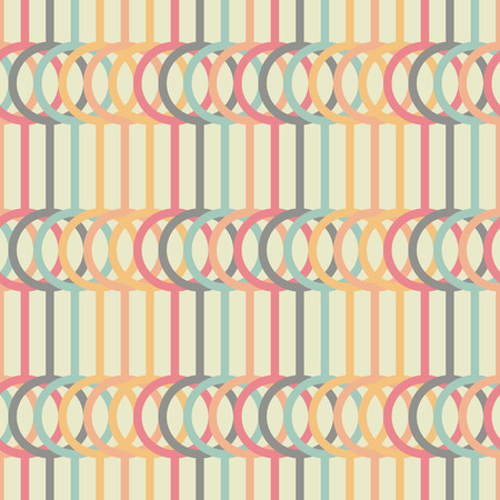 pale colors: Abstract illustration. Stylized texture with lines and circles. Pale colors. Illustration