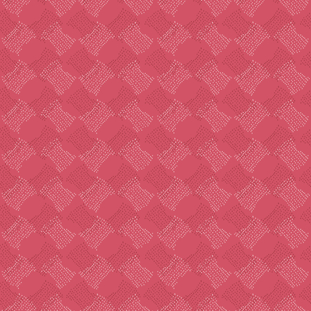 Abstract pattern based on a Traditional African Ornament. Warm pink colors. Seamless vector. Stylized papyrus leaves. Plain backdrop for decoration, wallpaper, web page background, surface textures. Pattern fills.