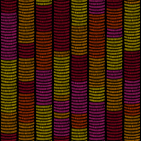 yellow african: Traditional African Ornamental Pattern. Stylized Seamless texture with waves. Red Magenta and Yellow African Pattern for decoration or background. Illustration